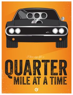 A bi-weekly poster series dedicated to obscure movie references. By Graphic Artist Geoff Bloom. Fast And Furious Party, Fast And Furious Birthday, Fast & Furious 5, The Furious, Funny Dog Jokes, Furious Movie, Custom Muscle Cars, Nissan 240sx, Poster Series