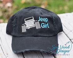 6d26ed3e Jeep Girl Baseball Ponytail or Trucker Hat option, Jeep Hair Don't Care  Custom