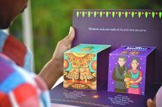 Indian Wedding Invitation Cards, Wedding Invitation Card Design, Indian Wedding Cards, Creative Wedding Invitations, Wedding Card Design, Indian Weddings, Indian Invitations, Wedding Stationery, Real Weddings