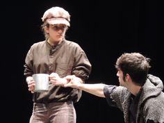 Imagen del espectáculo de teatro escolar para secundaria Oliver Twist.