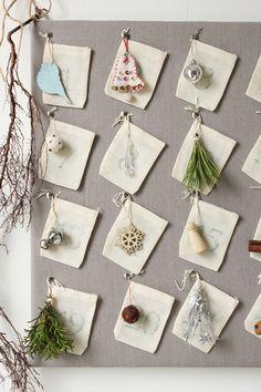 DIY Advent Calendar from The Marion House
