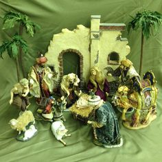 MEMBER'S MARK NATIVITY SET WITH ORIGINAL BOX CHRISTMAS 2005/06