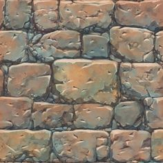 Stylized Textures : Texture and Shader Painted Texture Texture Mapping, 3d Texture, Stone Texture, Game Textures, Textures Patterns, Hand Painted Textures, Texture Painting, Paint Texture, Map Painting
