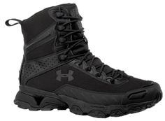 Boot evolution: the sole of a running shoe & durability of a hiking boot. WHAT'S IT DO? One of UA's most popular boots for police and military, UA's Valsetz