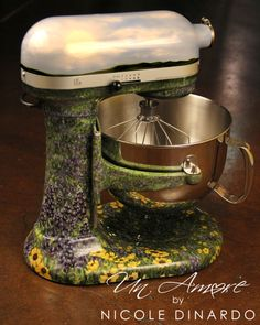 kitchenaid mixers painted   Custom-Painted KitchenAid Mixers
