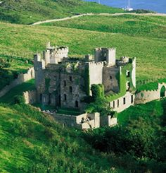 The castles of Ireland.