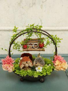 ウェディングDIY!単発プリザーブドレッスン10月4日ご報告 次回11月1日午後です : 一会 ウエディングの花