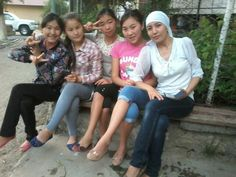 Kyrgyz girls:)