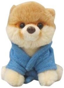 4″ Itty Bitty Boo Bathrobe Plushie #Boo #boo #the #cutest #dog #bathrobe #stuffed #toys #plush #plushie  http://www.coolplushies.com/