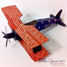 authentique-bi-plane.jpg - 3d Bi-plane Snapdragon Snippets Design