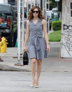 Emmy Rossum in LA.