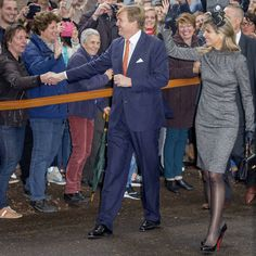 Queen Maxima and King Willem-Alexander visit mine region Limburg