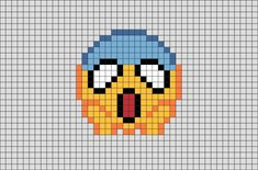 Emoji Pixel Art from BrikBook.com #Emoji #Emoticon #Message #Smiley #pixel #pixelart #8bit Shop more designs at http://www.brikbook.com