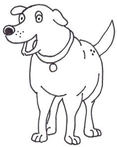 martha speaks coloring pages - photo#5