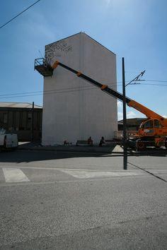 https://flic.kr/s/aHskrH8vCA | New Wall by Millo in Avellino – Italy – Casa dei ferrovieri