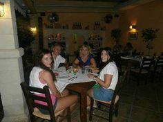 The Xantheas family having dinner at the Alana Restaurant! #SeenatAlana