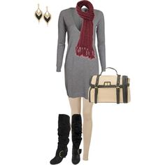 Sweater Dress :)