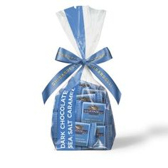 Dark Chocolate Sea Salt Caramel SQUARES Gift Bag (33 pc)