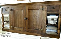 Wood Shutters Tv Cabinets And Shutters On Pinterest