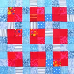 Controlled Chaos Scrap Quilt - block #16