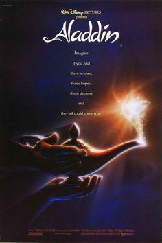 Aladdin original theatre poster