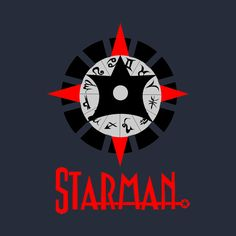Check out this awesome 'Starman-Jack+Knight' design on @TeePublic!