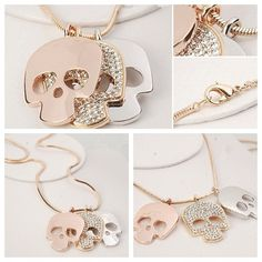 Skull Necklace❤