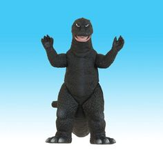 Bandai Japan Toho Godzilla Movie Monster Reissue Series: #1 & #13 (B) Godzilla 1968, 1969, 1971 (New Paint Scheme Reissue Ver.) Soft Vinyl Figure 6 Inches Tall with Licensed Purple Border Movie Card Tag Bandai Japan/Toho Co. Ltd 2006 http://www.amazon.com/dp/B000GUJWCQ/ref=cm_sw_r_pi_dp_mtNAub0ZYTZQT