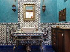 В стиле Восточный Фотографии дизайна интерьеров на фото Ванная.