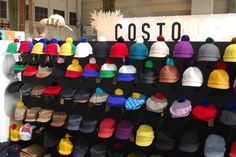 Lovely Costo Hat Display Hat Display, Display Ideas, My Wardrobe, Finland, Style Me, Branding Design, Book, Hats, Beautiful