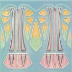 F 66 V6 In Handarbeit gefertigt und bemalt.  #Shower #Kitchen #Bathroom #Architecture #ArtNouveau #ArtDeco #Design #Tiles #Interior #ceramics #OldTiles #AlteFliesen #NeuesdurchTradition #GOLEMtiles #Architecturalceramics  www.golem-baukeramik.de  https://www.facebook.com/GOLEMceramics/ https://www.instagram.com/golembaukeramik/