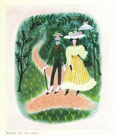 Mary Blair's Mary Poppins. AHH. I want a print of this so bad!