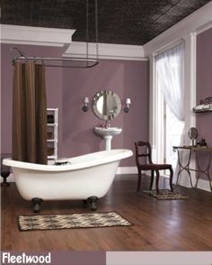 Fall in love with your bathroom again with Love Letters from the Fleetwood Paint's Popular Colours range.