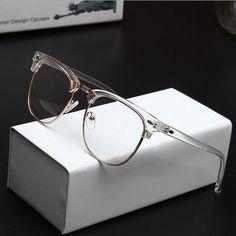 cbf8f99b31a 2016 Wholesale Men Brand Design Vintage 3016 Transparent Eyeglasses Frame  Women Myopia Optical Reading Glasses Frame