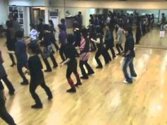 Chicken Walk Jive - Line Dance (Demo & Walk Through) - YouTube