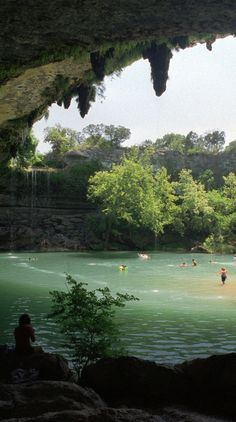 North America's 6 Most Amazing (and Secret) Swimming Holes...  I live within driving distance of 2, but that North Carolina one looks like it's worth a road trip.