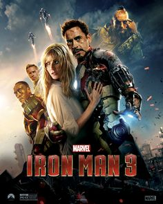 When Tony Stark/Iron Man finds his entire world reduced to rubble, he must use all his ingenuity to survive, destroy his enemy and somehow protect those he loves. Stars Robert Downey Jr. & Gwyneth Paltrow. (CC) © 2013 Marvel. All Rights Reserved.