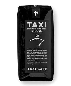 Taxi Coffee #flexo #packaging #design