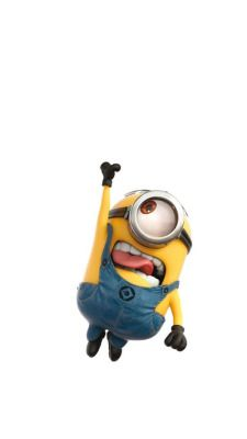 Despicable me I remember this part in the movie they just took out the background and me it a white background! We Love Minions, Cute Minions, Minions Despicable Me, Minion Mayhem, Iphone 5 Wallpaper, Minion Wallpaper, Displays, Minion Party, School Pictures
