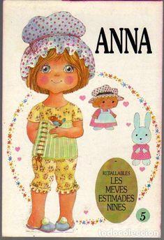 Anna cortou bonecas.  LES MEVES ESTIMADES NINES, nº 5 - Foto 1