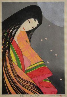 Oborozukiyo no Kimi by Shusui Taki