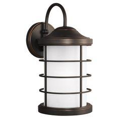 Sea Gull Lighting Sauganash 8624451 Outdoor Wall Lantern - 8624451-