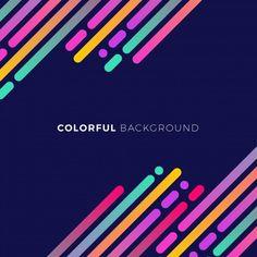Dark blue background with colored forms Free Vector Banner Design, Flyer Design, Layout Design, Web Design, Logo Design, Graphic Design, Poster Background Design, Background Patterns, World Pharmacy