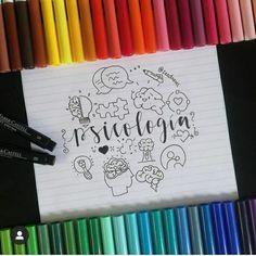 Ideas para hacer las carátulas más geniales! – Ideas 2020 Bullet Journal School, Bullet Journal Inspo, Bullet Journal Ideas Pages, Cute Notes, Pretty Notes, Notebook Art, Notebook Covers, Bff Drawings, Easy Drawings