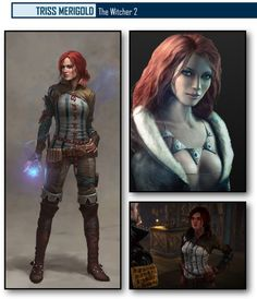 Triss, The Witcher 2