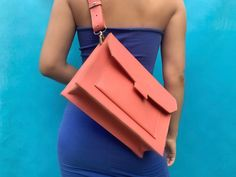 LYNA bag korall Bagan, Shopping Bag, Leather, Fashion, Moda, La Mode, Fasion, Fashion Models, Trendy Fashion