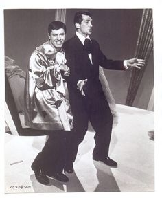 ORIGINAL 1955 ARTISTS AN MODELS STARS DEAN MARTIN AND JERRY LEWIS PHOTO (9)
