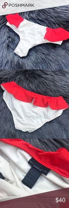 Marc jacobs ruffle bikini bottoms Good condition • Open to offers via button Marc Jacobs Swim Bikinis
