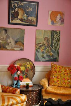Art in homes •Windsor Smith