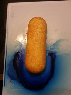 Step #1: Take a Twinkie and put it on a white sheet.